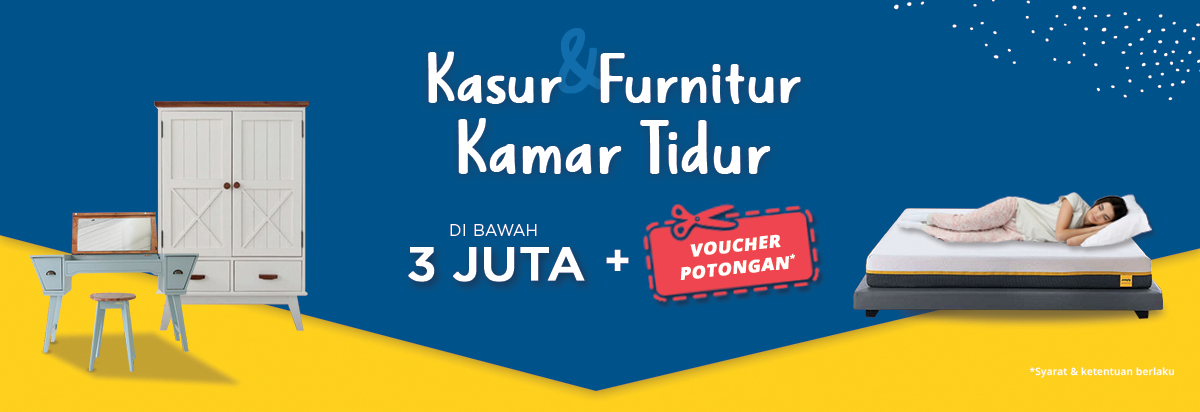 JdID - Promo Furniture & Kamar Mandi + Voucher Diskon s.d 100 Ribu