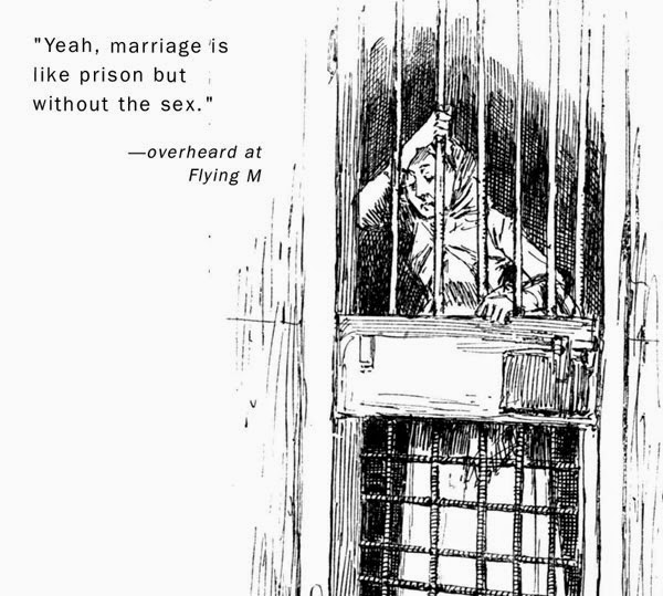 Sex behind Bars and Comparison with Marriage Very Funny Humor Cartoon Jokes