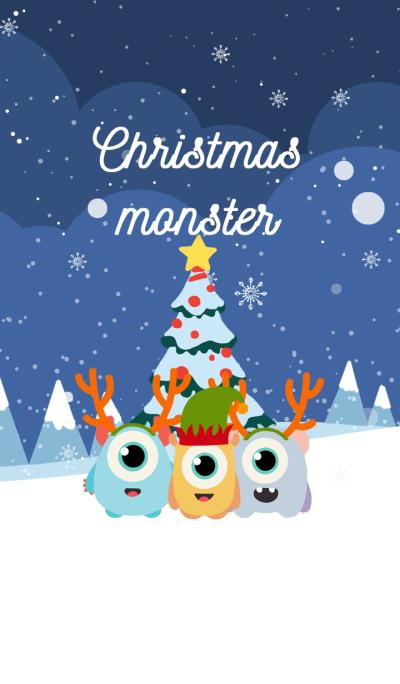 Christmas monster