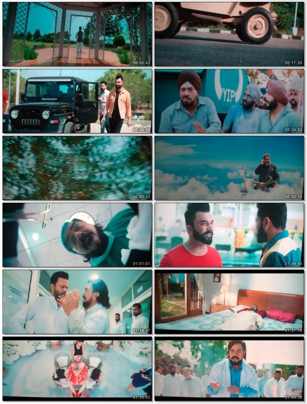 Screen Shot Of Mar Gaye Oye Loko 2018 Full Movie Free Download HD 720P Watch Online