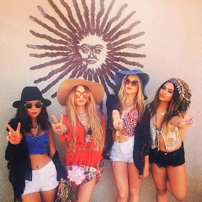 Coachella 2014 fashion style Vanessa Hudgens