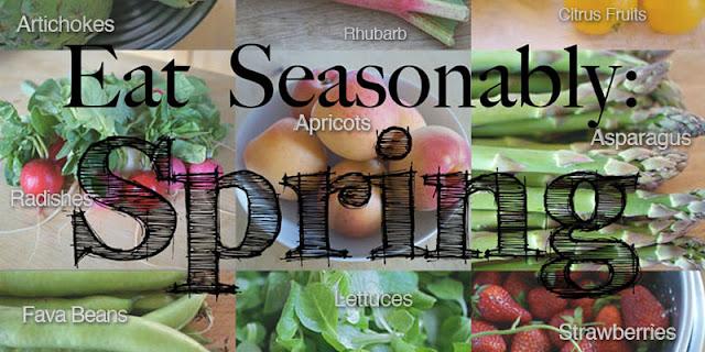 ماذا يجب أن نأكل في فصل الربيع ؟