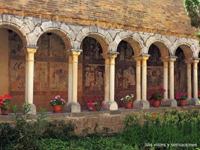 Pinturas murales de la Colegiata de Santa María La Mayor, Alquézar