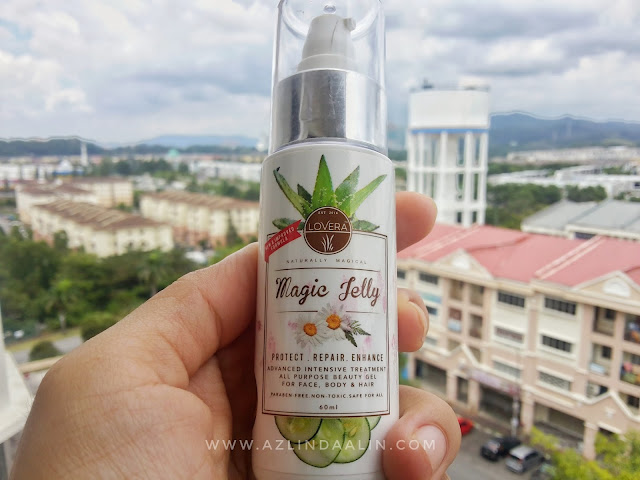 LOVERA MAGIC JELLY SEBAGAI MAKE UP BASED TANPA PARABEN DAN TANPA TOKSIK