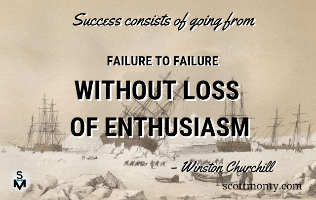 Churchill on success