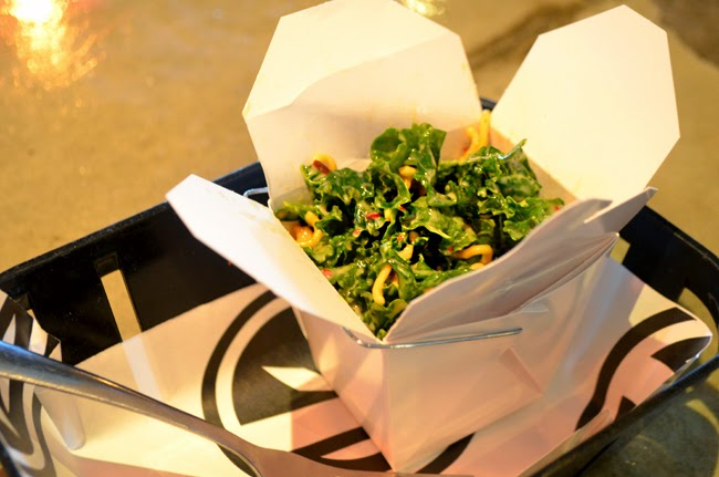 Peachtree Food Tour, Kale Salad