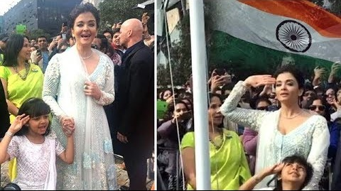 aishwarya-rai-first-woman-hoist-indian-flag-at-iffm-2017