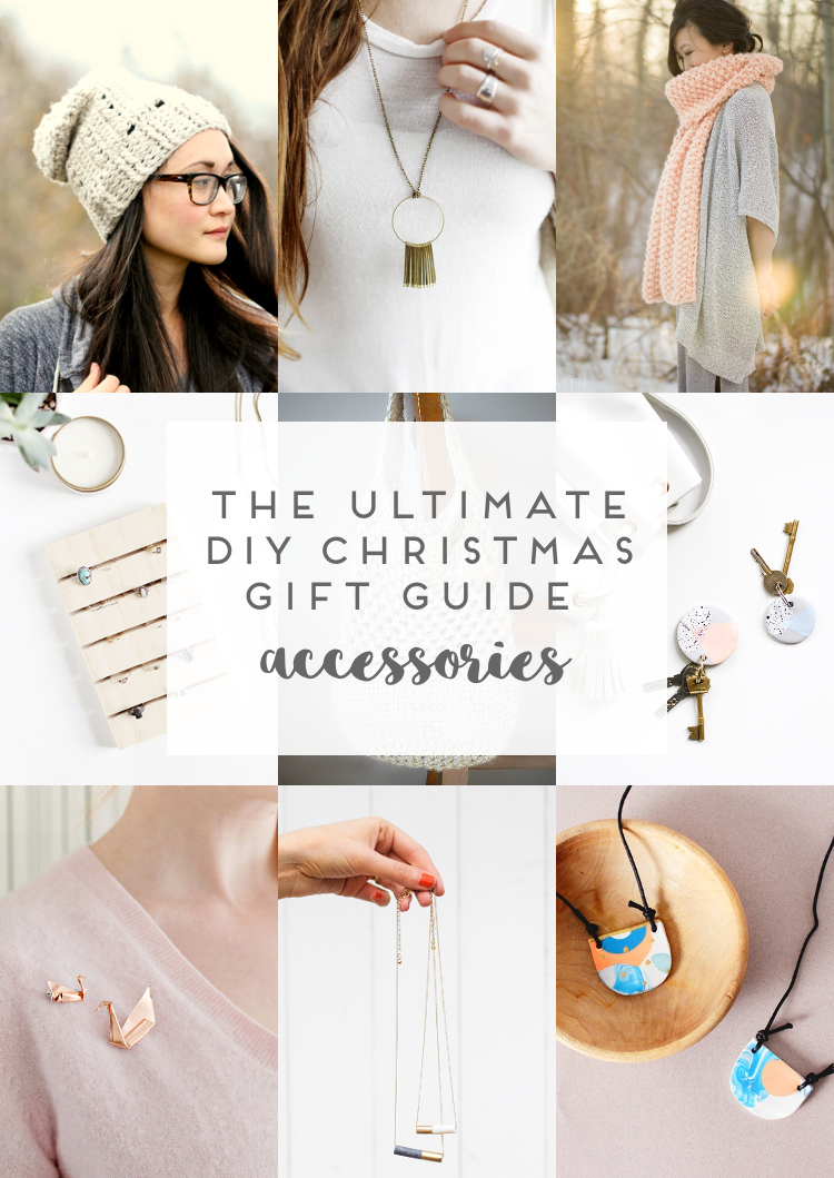 THE ULTIMATE DIY GIFT GUIDE - JEWELLERY, BAGS AND MORE