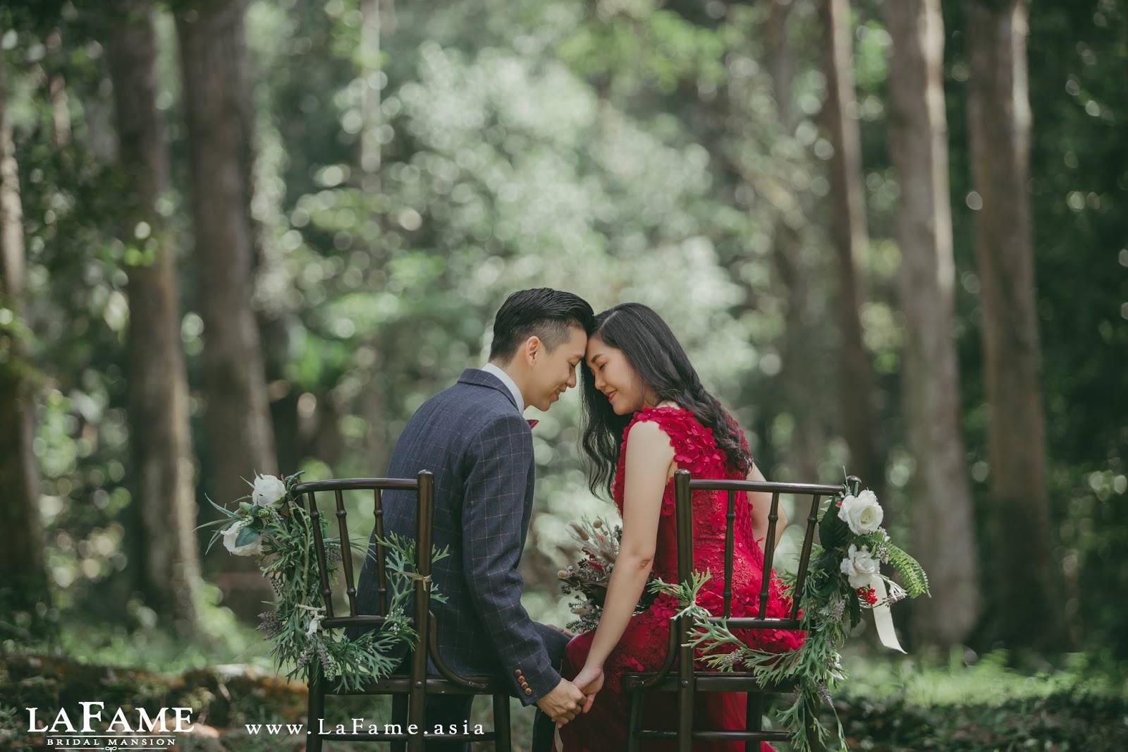 Pre wedding photoshoot at frim kepong lafame bridal studio junglespirit Gallery