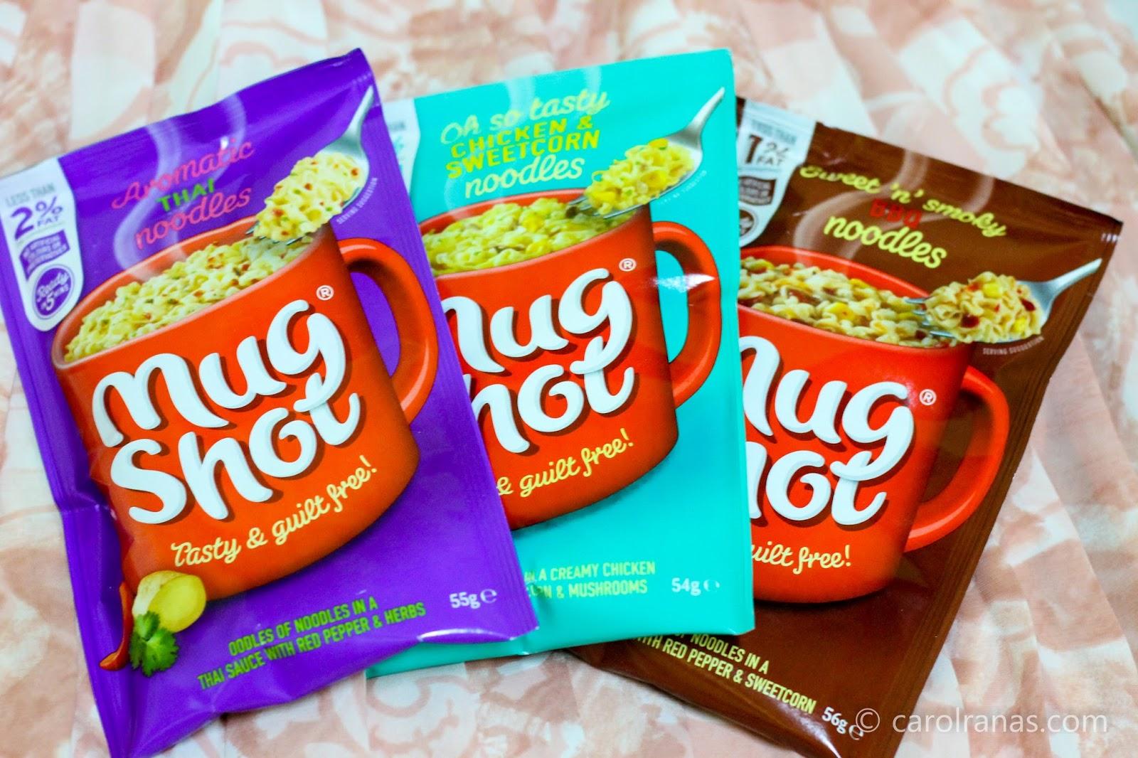 Mug Shots: Quick and Healthy Snacks - Be Carol