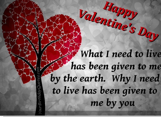 valentine day quotes 2017