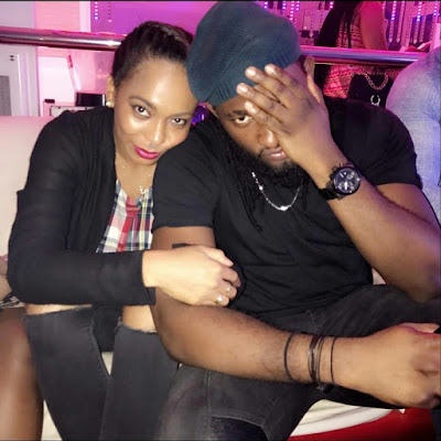 Tboss and Uti Nwachukwu hang out (photos)