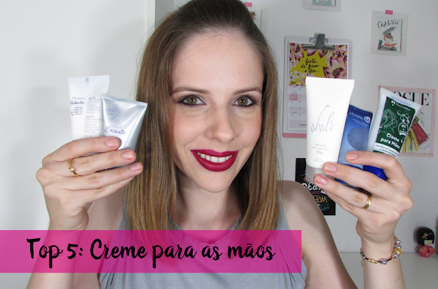 Vídeo: TOP 5 - Creme para as mãos