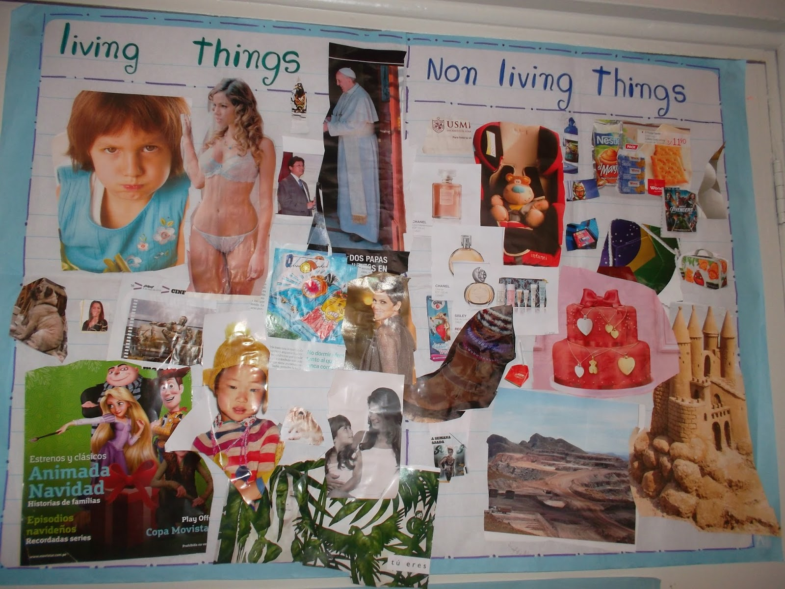 Pre Kinder Nightingales Science Living Amp Non Living Things
