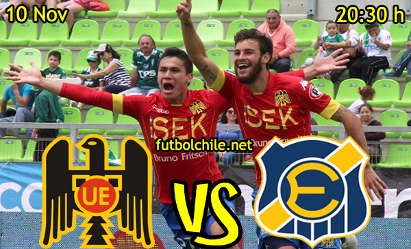 Ver stream hd youtube facebook movil android ios iphone table ipad windows mac linux resultado en vivo, online: Unión Española vs Everton