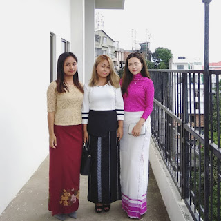 Dress Styles in Aizawl, Mizoram