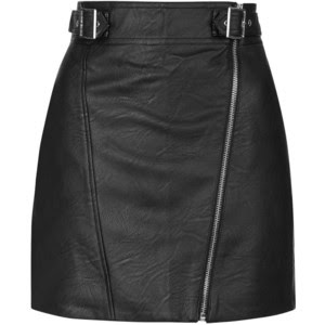 PU biker mini skirt, $80 from Topshop