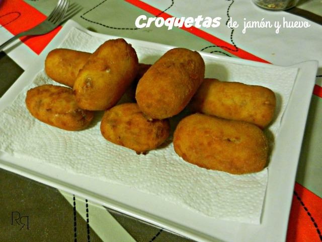 """""""Croquetas de jamón y huevo"""""""
