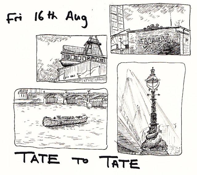 Tate to Tate Sketchers!