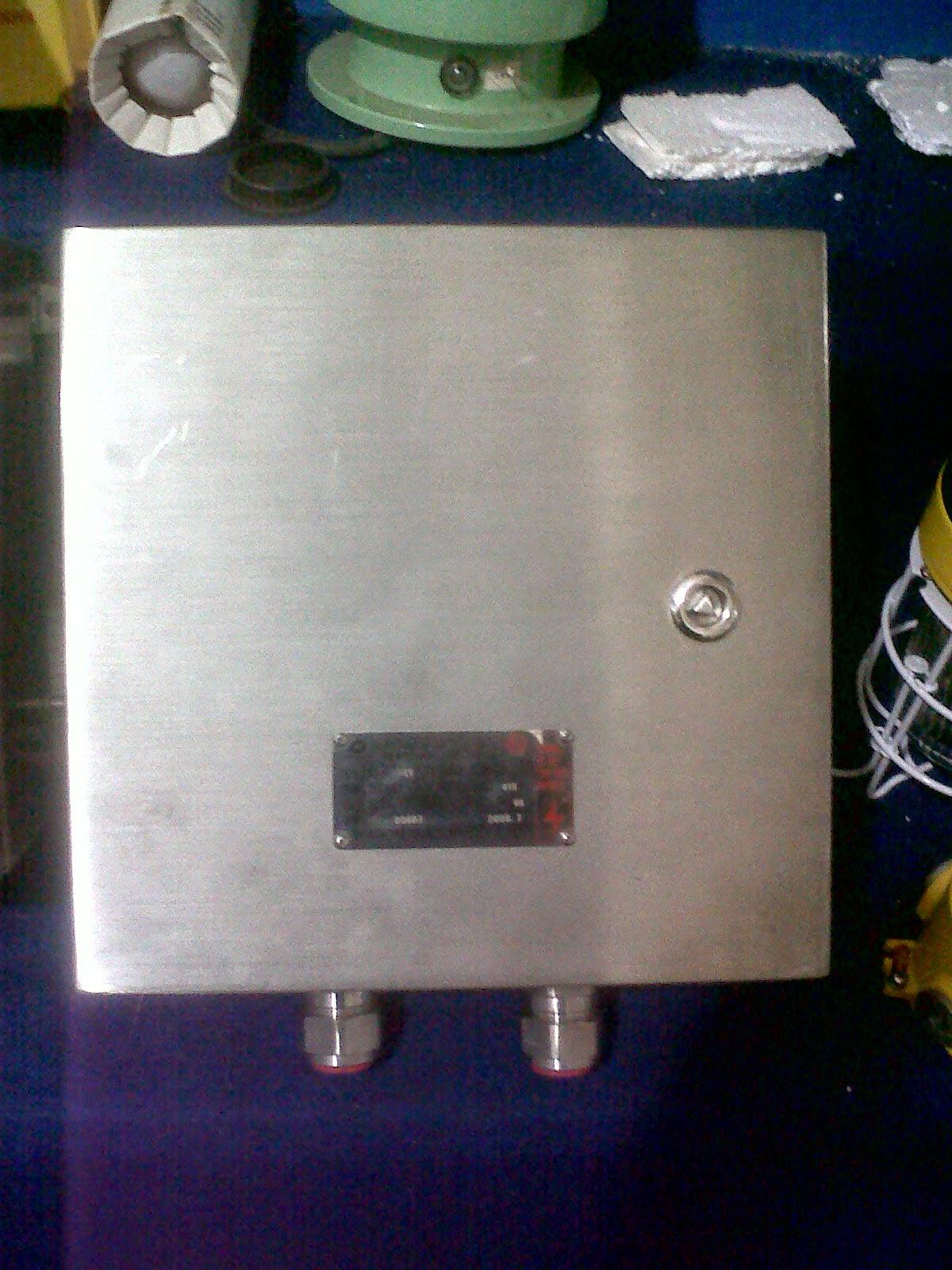Junction Box Anti Ledak Panel Explosion Proof Stainless
