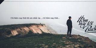 PSD Ảnh bìa Hôm Nay Tôi Buồn - Phùng Khánh Linh