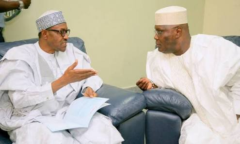 Presidency Replies Atiku For Saying Buhari Is