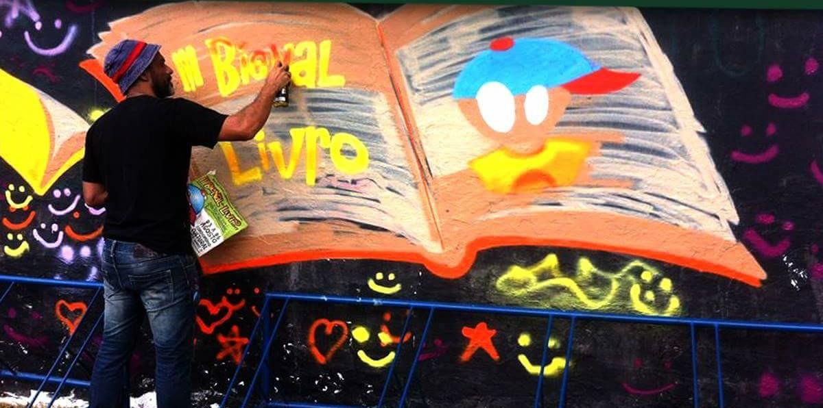 Dagaz promove oficina de grafite no Degase nesta sexta-feira
