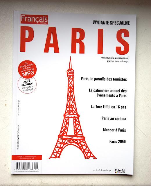 "Recenzje #33 -   ""Français Présent Paris 1/2018"" + konkurs - okładka czasopisma - Francuski przy kawie"