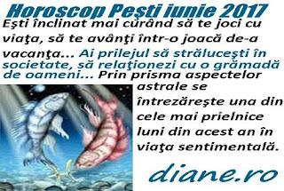 Horoscop iunie 2017 Peşti
