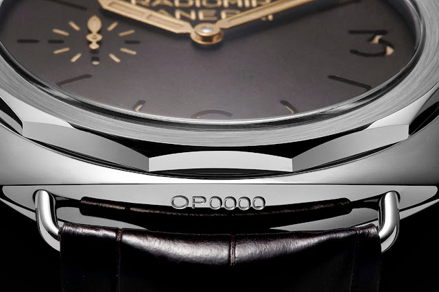Panerai Radiomir Platino 47mm Watch detail
