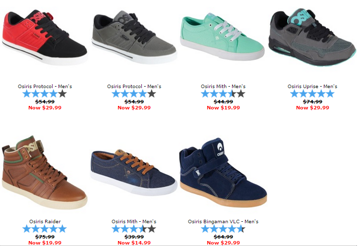 19760dcf1f Osiris Skate Shoes On Sale at CCS Starting at $14.99 | Skate Shoes ...
