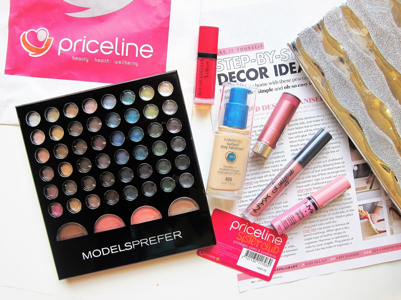 c9dc2779525 Priceline 40% off Cosmetics Haul. Time to share my Priceline haul, I pick  some new products and some old favourites. What I picked in the previous  pricline ...