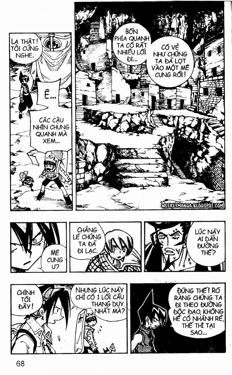 Shaman King [Vua pháp thuật] chap 107 trang 10