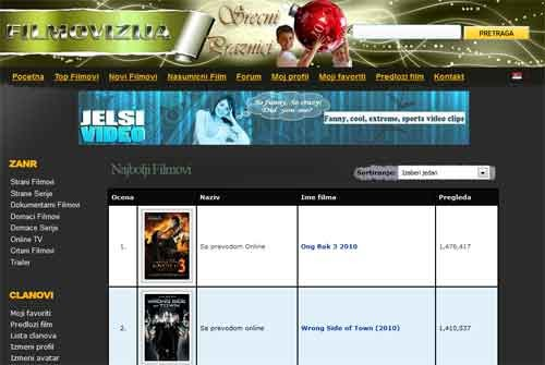 Filmovizija Online Sa Prevodom Besplatno