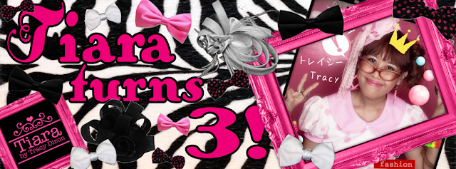 7015b6e49 TIARA TURNS 3  Tiara by Tracy Dizon s 3rd Year Anniversary Giveaway  ...Omiyage + Leg Love + More!