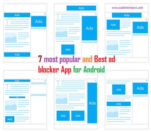 7 most popular and Best ad blocker App for Android