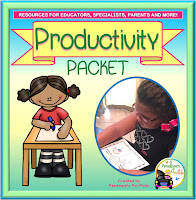 Productivity Character Education - Social Skills Teaching Packet