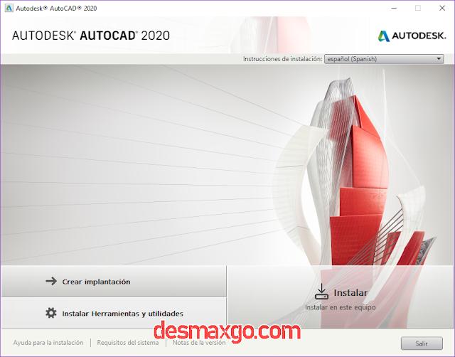 descargar autocad 2020 full español