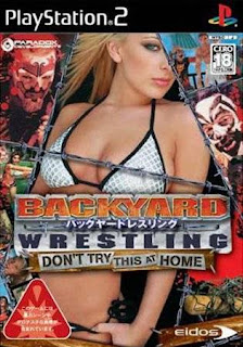 Backyard Wrestling: Don't Try This at Home - PS2