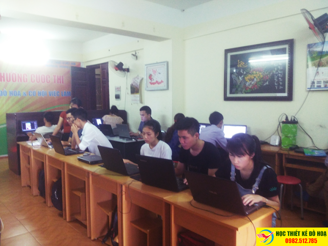 Khóa học thiết kế đồ họa tại Hai Bà Trưng, Hà Nội