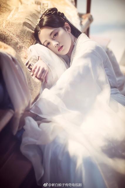 SNH48 Ju Jingyi The Legend of White Snake (upcoming drama)