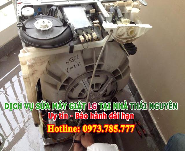 Sửa Máy giặt LG tất cả các lỗi tại Thái Nguyên Uy tín