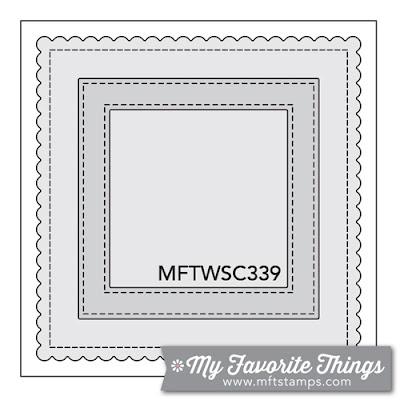 Sketch Challenge 339 #mftstamps