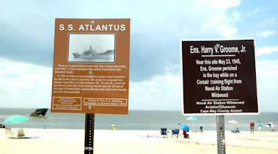S. S. Atlantus - Sunken Concrete Ship in Cape May