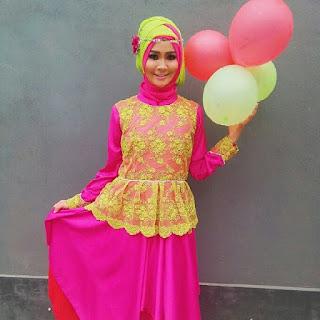 Model Busana kebaya Pesta Muslimah