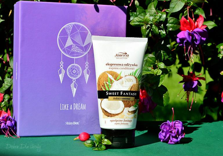 ShinyBox Like a Dream - Kokosowa ekspresowa odżywka do włosów Joanna