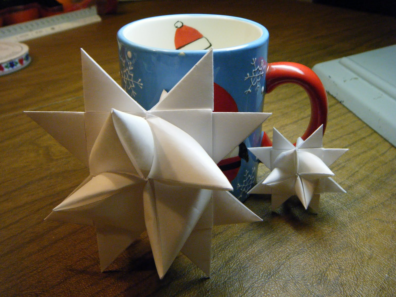 What About Pie: Make A German Paper Star To Hang On Your