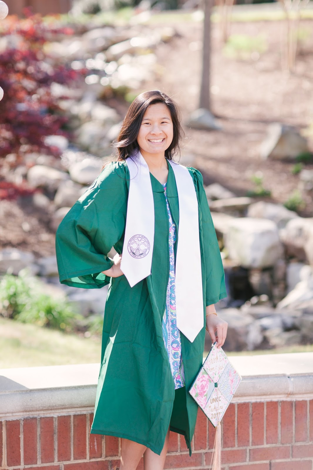 UNC Charlotte Graduation Photos