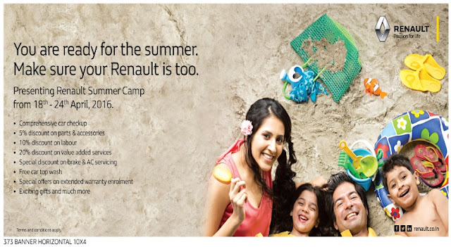 Renault to organize Summer Camp in India