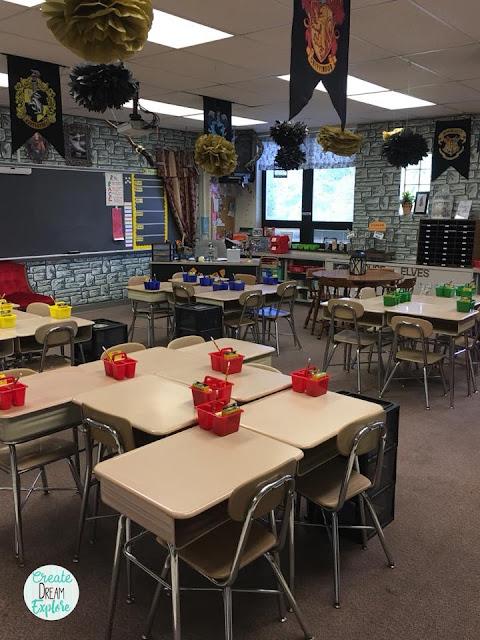 Harry potter themed classroom